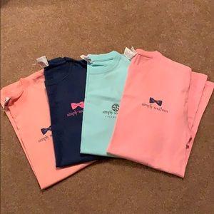 Simply Southern Shirts Lot